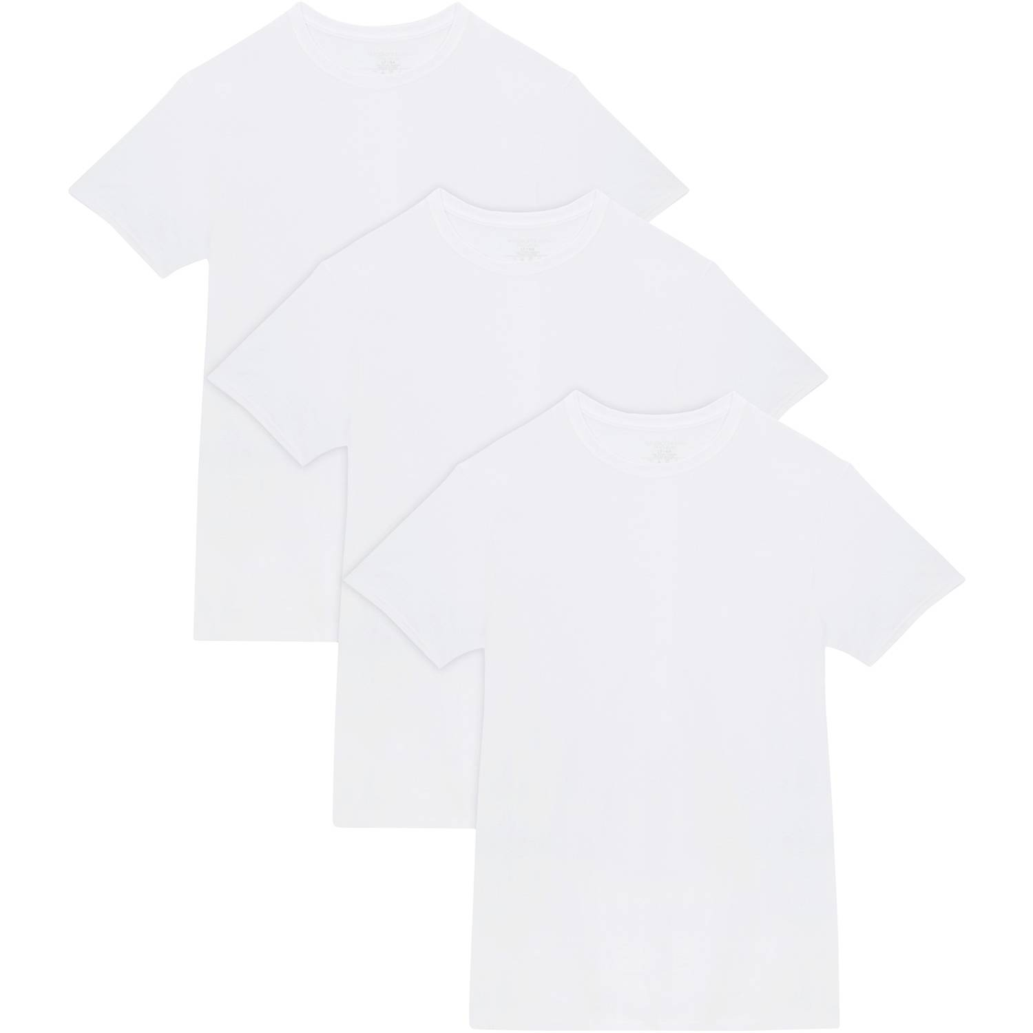 87dcfe57 Fruit of the Loom - Tall Men's Collection White Crews Extended Sizes up to  3XLT, 3-Pack - Walmart.com