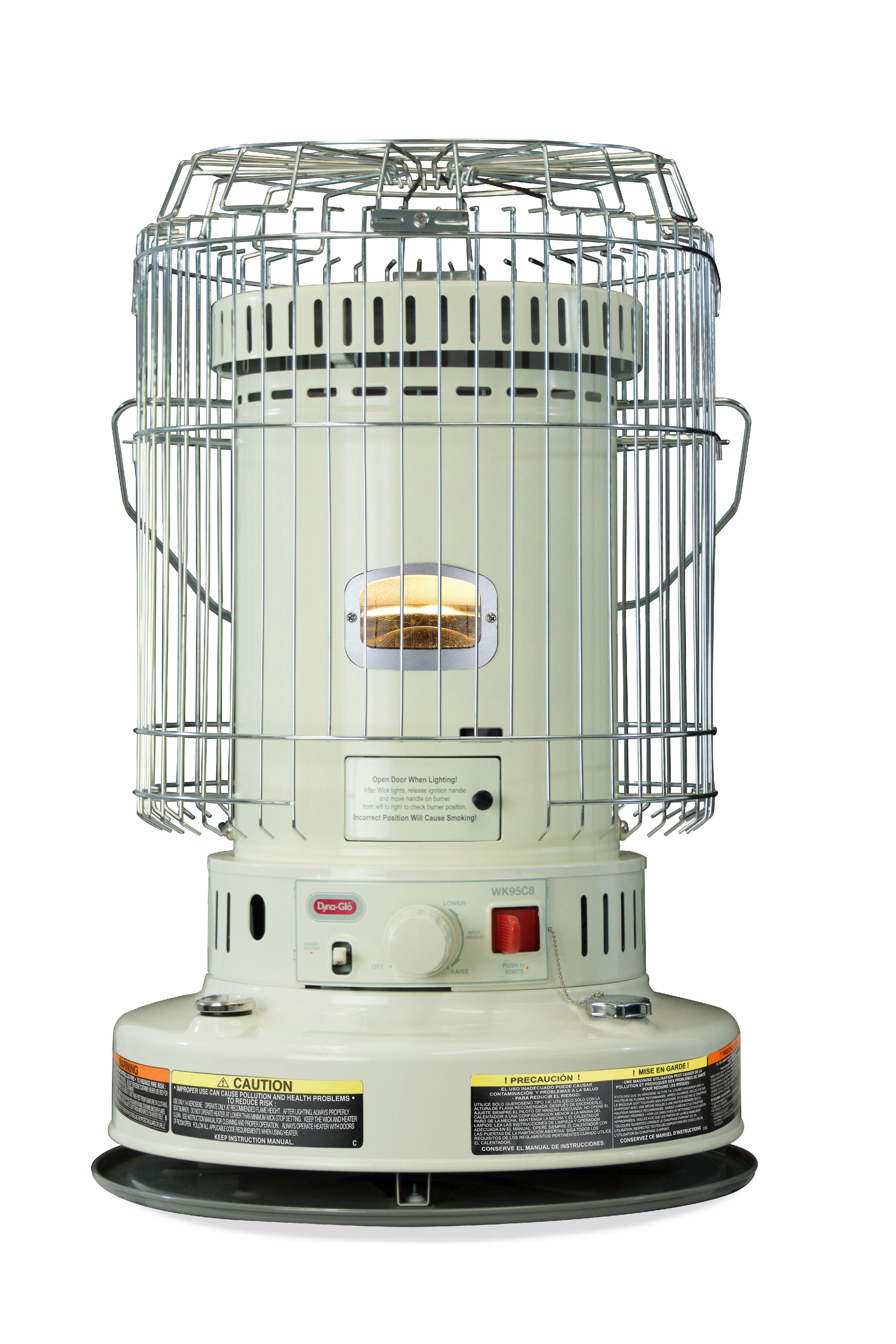 Dyna-Glo WK95C8 23,800 BTU Indoor Kerosene Convection Heater ...