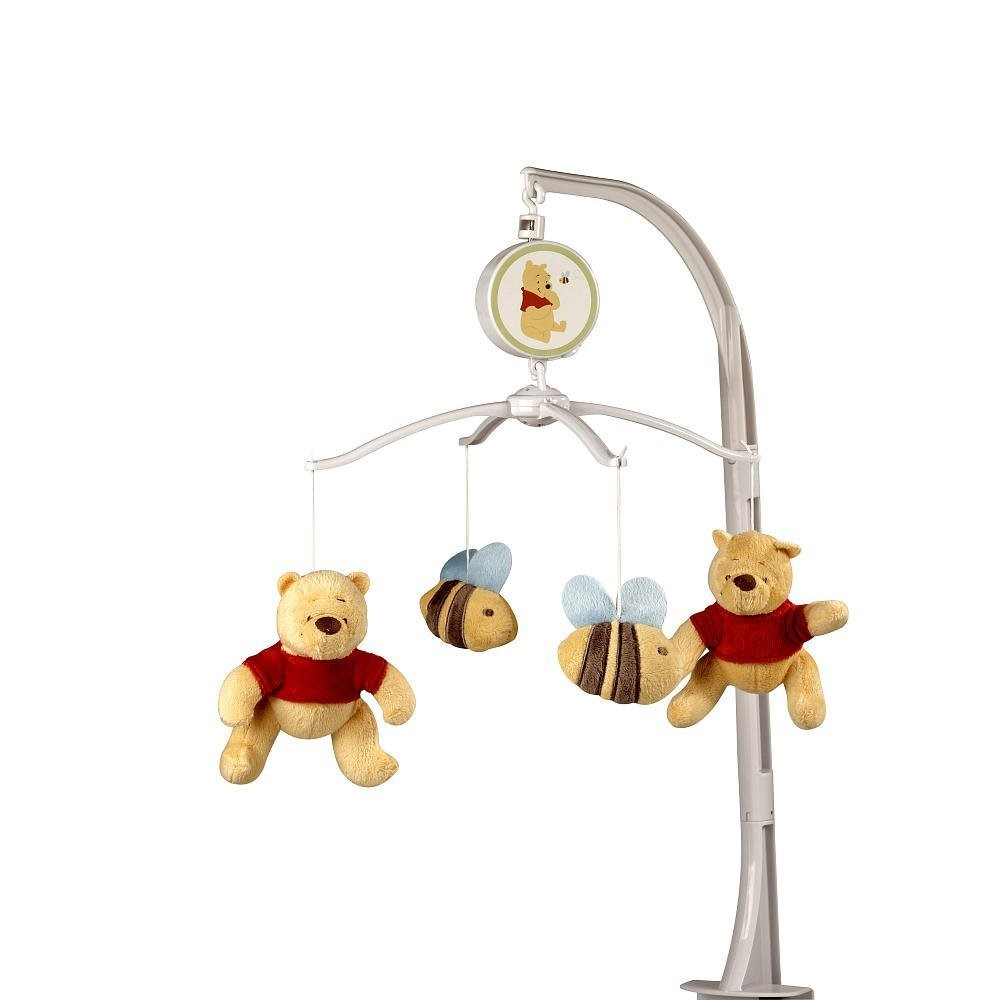 Winnie the Pooh Sunny Hunny Day Musical Mobile by Crown Crafts