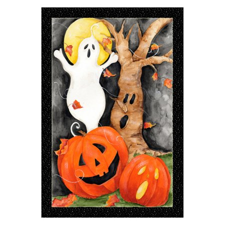 Toland Home Garden Halloween Scene Flag for $<!---->