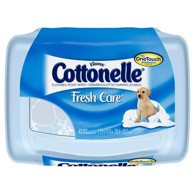 CPC COTTW Cottonelle Flushable Baby Wipes  42 Piece - image 1 de 1