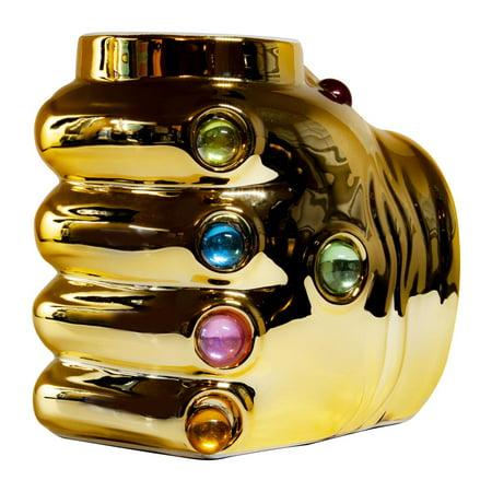 Marvel Avengers Thanos Infinity Gauntlet Ceramic Coffee Mug | 20 Oz](Halloween Coffee Mugs For Sale)