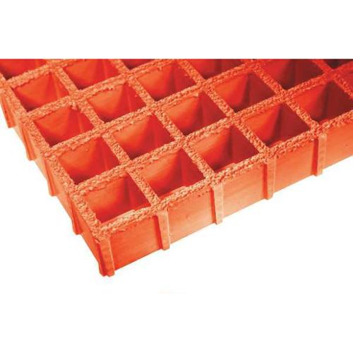 FIBERGRATE 878866 Molded Grating, Span 5 ft.