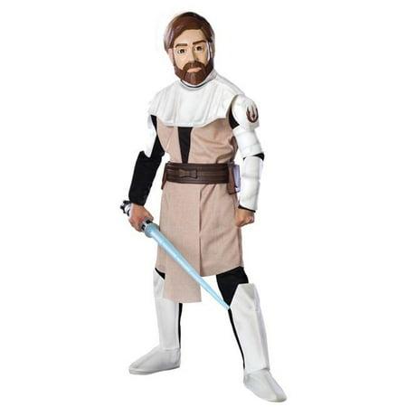 Costumes For All Occasions Ru883197Sm Obi Wan Kenobi Dlx Child Small
