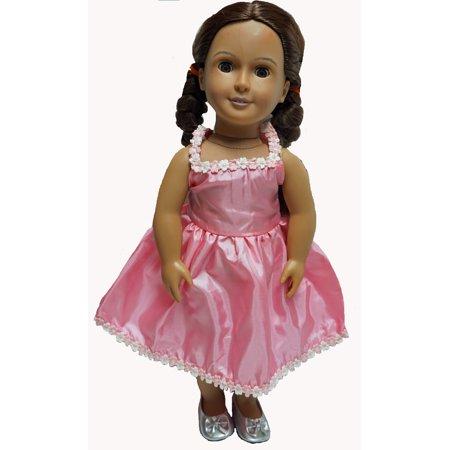 Pink Darling Dress Fits 18 Inch Girl Dolls Like American Girl](Darling Girls)