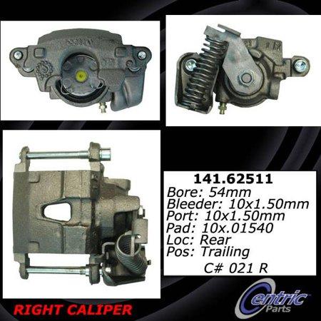 Centric Brake Disc - Centric Parts Disc Brake Caliper P/N:141.62511