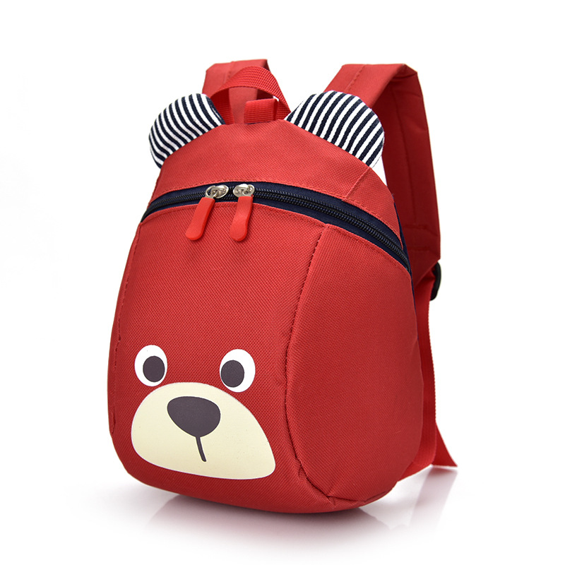 Smarit Children Kids Small Toddler Backpack With Leash Bear for Boy Girl Under 3 Years