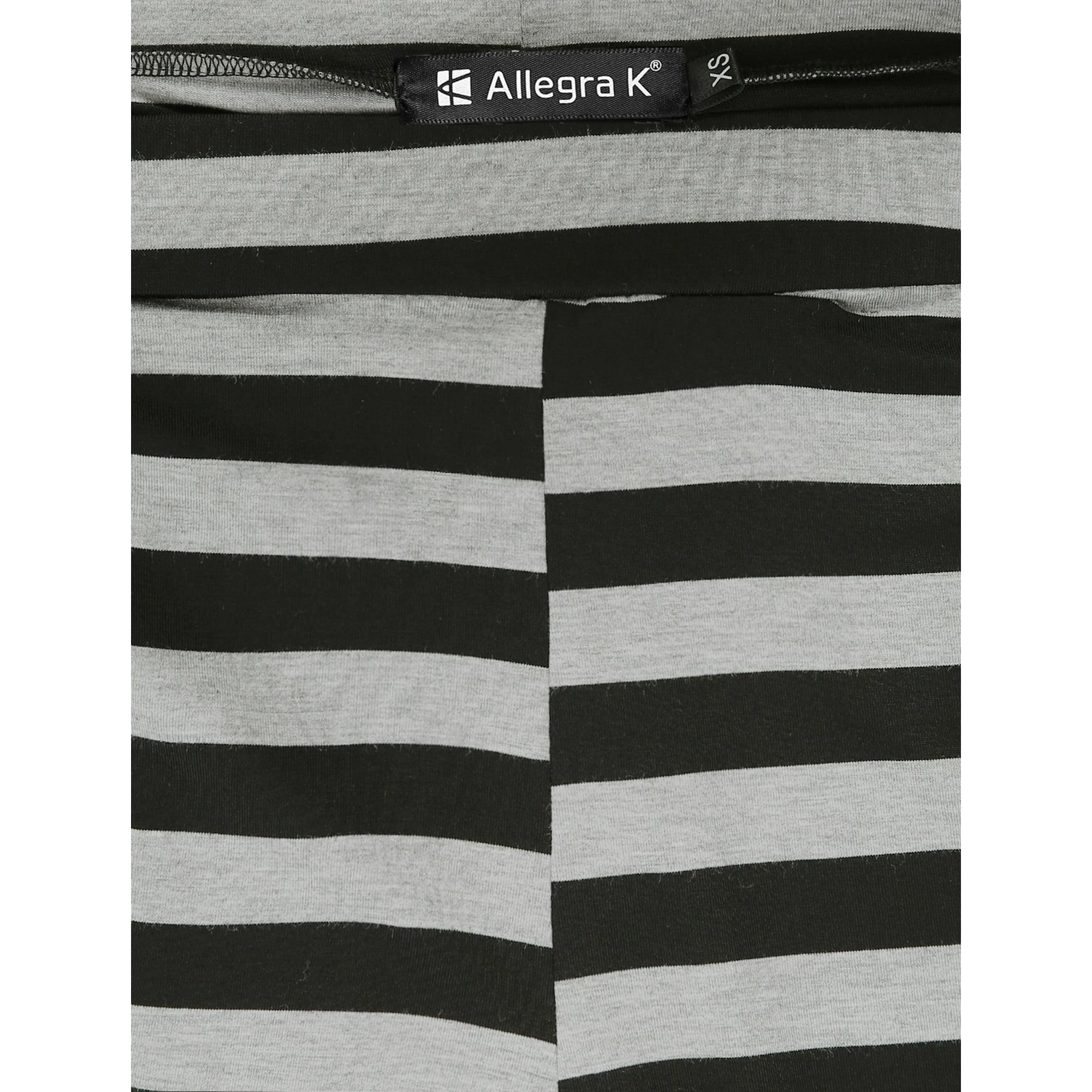 2a2bbeefe989d4 Women's Striped Elastic Waistband Knit Stirrup Leggings Black (Size XS / 2)  Black XL (US 18) | Walmart Canada