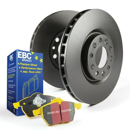 EBC Brakes S13KR1188 S13 Kits Yellowstuff and RK Rotors Fits Camry ES300 ES330 Camry Brake Rotors