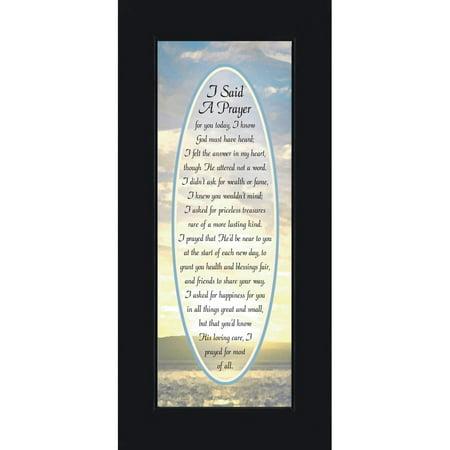 I Said A Prayer, I Said A Prayer For You Today Plaque, Gifts Religious For Friends, 6x12