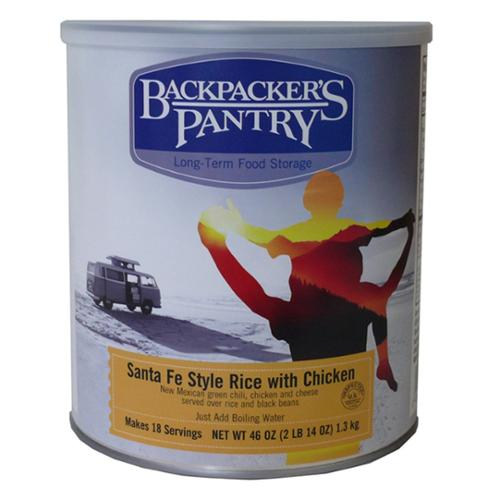 Backpacker's Pantry Santa Fe Rice w  Chicken Can by Backpackers Pantry