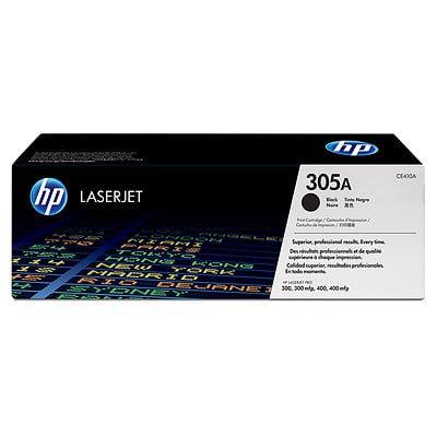 HP 305A (CE410A) Black Original LJ Toner Cartridge