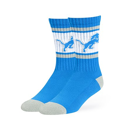 NFL Detroit Lions Dawson Crew Crew Socks by Fan Favorite