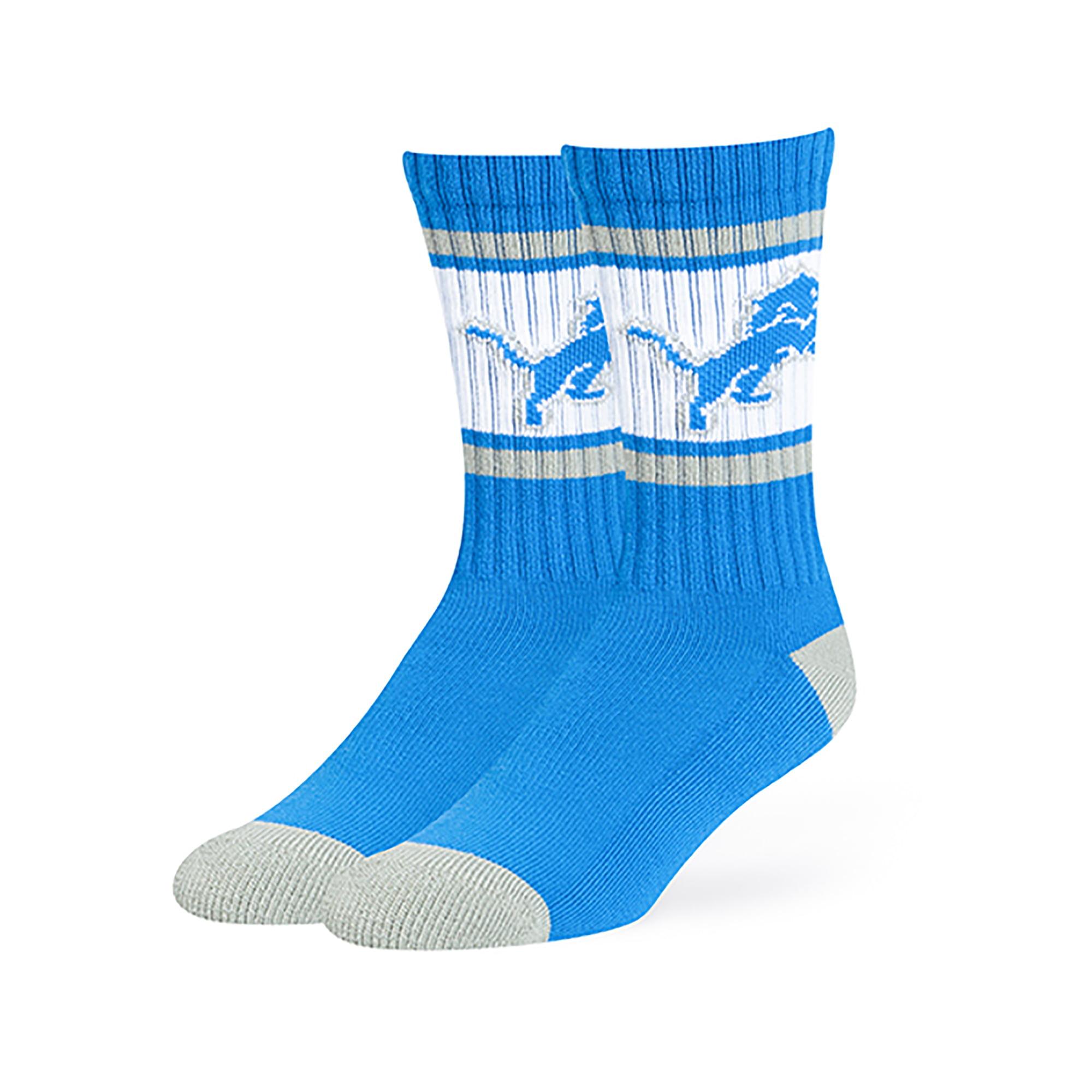 NFL Detroit Lions Dawson Crew Crew Socks by Fan Favorite