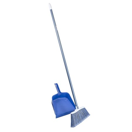 All Purpose Broom And Dustpan Oversized 12 Sweep For