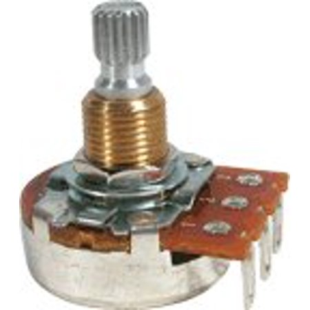 - Guitar & Amp Potentiometer, 300K Linear, Knurled Split Shaft By Bourns
