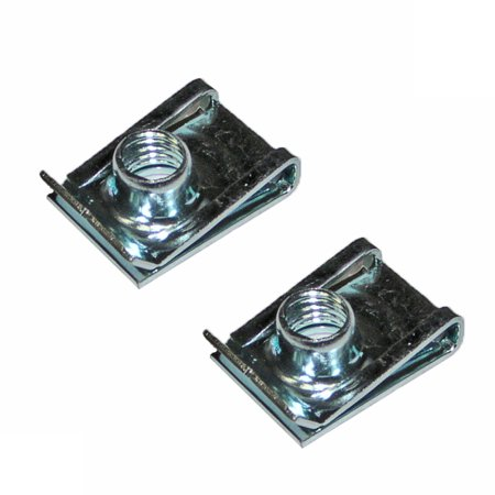 Black and Decker 2 Pack Of Genuine OEM Replacement Clip Nuts # N100381-2PK - image 1 de 1
