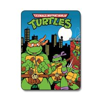 Teenage Mutant Ninja Turtles City Lightweight Fleece Blanket | 45 x 60 Inches