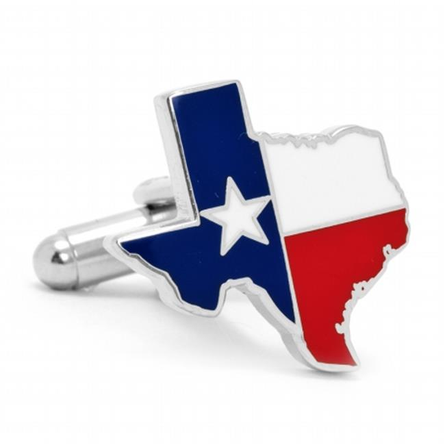 Cufflinks PD-TXF-SL Texas Flag Cufflinks