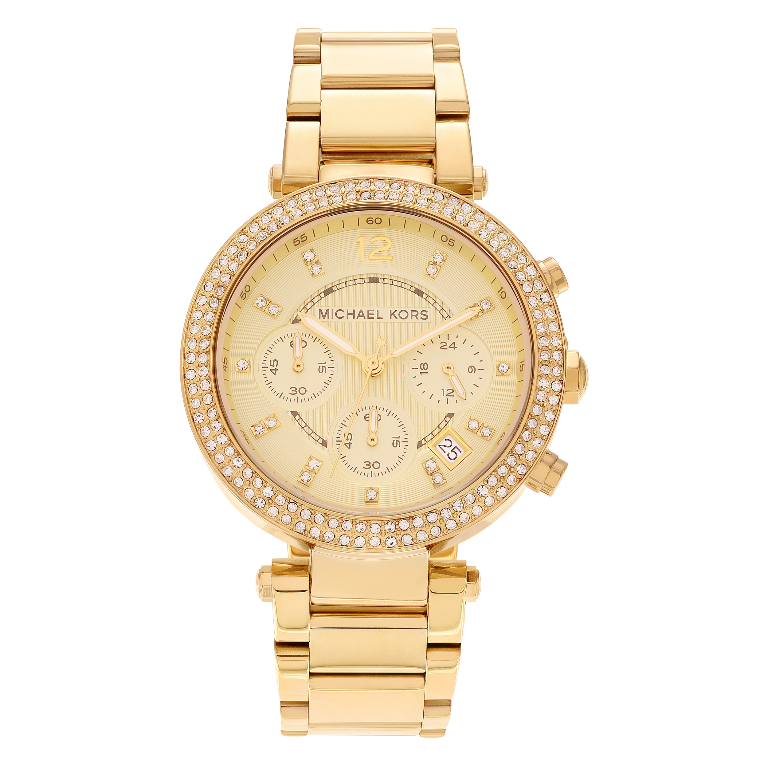 Price Pfister  Women's MK5354 'Parker' Yellow Gold Stainless Steel Watch