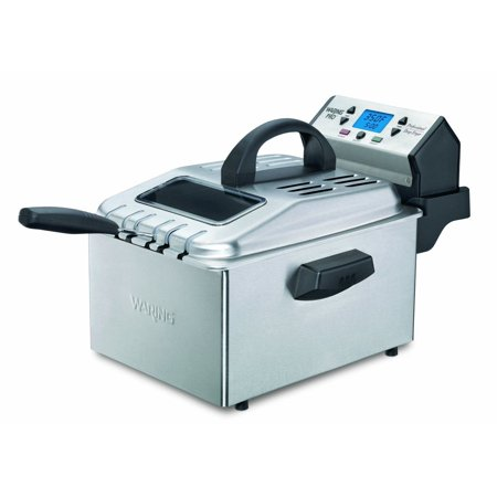 Waring Pro DF280 Deep Fryer, Brushed Stainless -CERTIFIED
