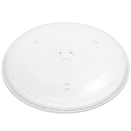 """2-Pack Replacement Frigidaire 5304417435 Microwave Glass Plate - Compatible Frigidaire 5304417435 Microwave Glass Turntable Tray - 12 1/2"""" (318mm) - image 2 of 4"""
