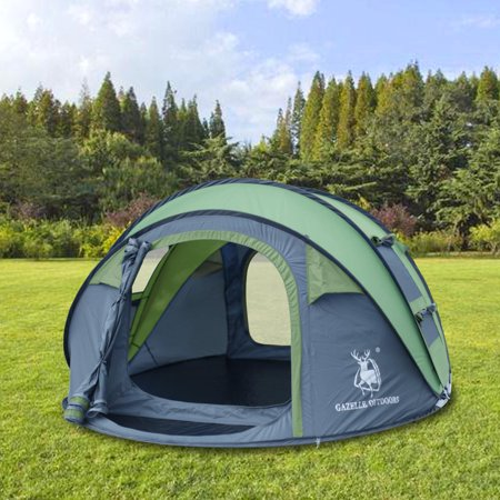 3 4 Person Instant Pop Up Tents Auto Dome Shelter 5fac76b79470