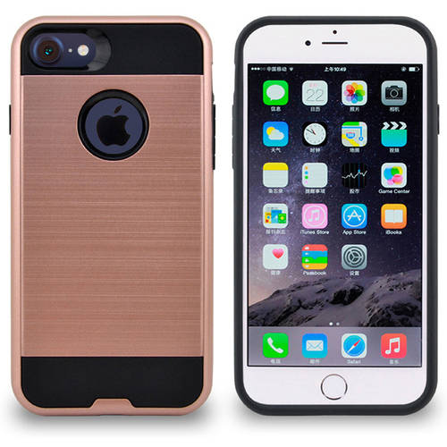 Armor Hybrid Soft Silicone Hard Tuff Shell Cover for Apple iPhone 7 Plus