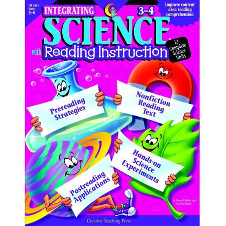 Creative Teaching Press Integrating Science with Reading Instruction, Multiple Grade Levels