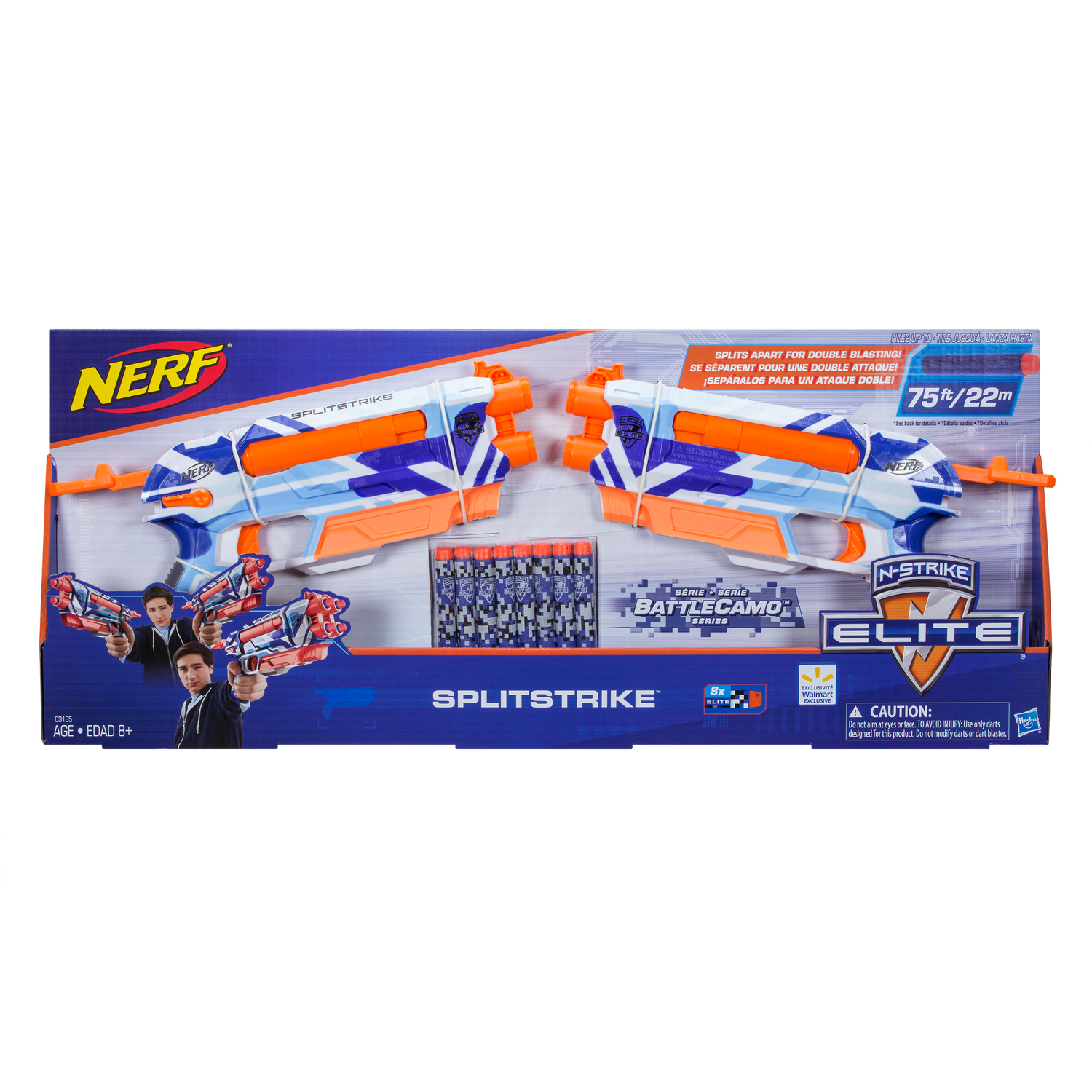 Nerf N-Strike Split Strike BattleCamo
