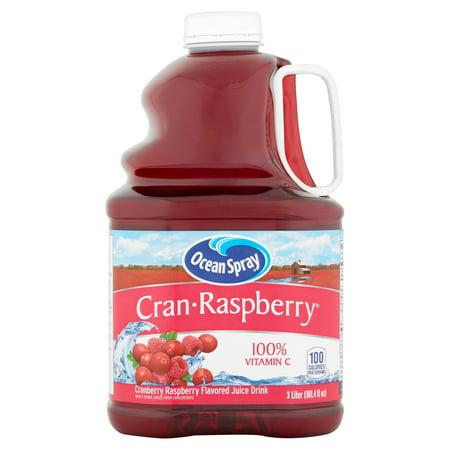 Ocean Spray Juice, Cran-Raspberry, 101.4 Fl Oz, 1 Count