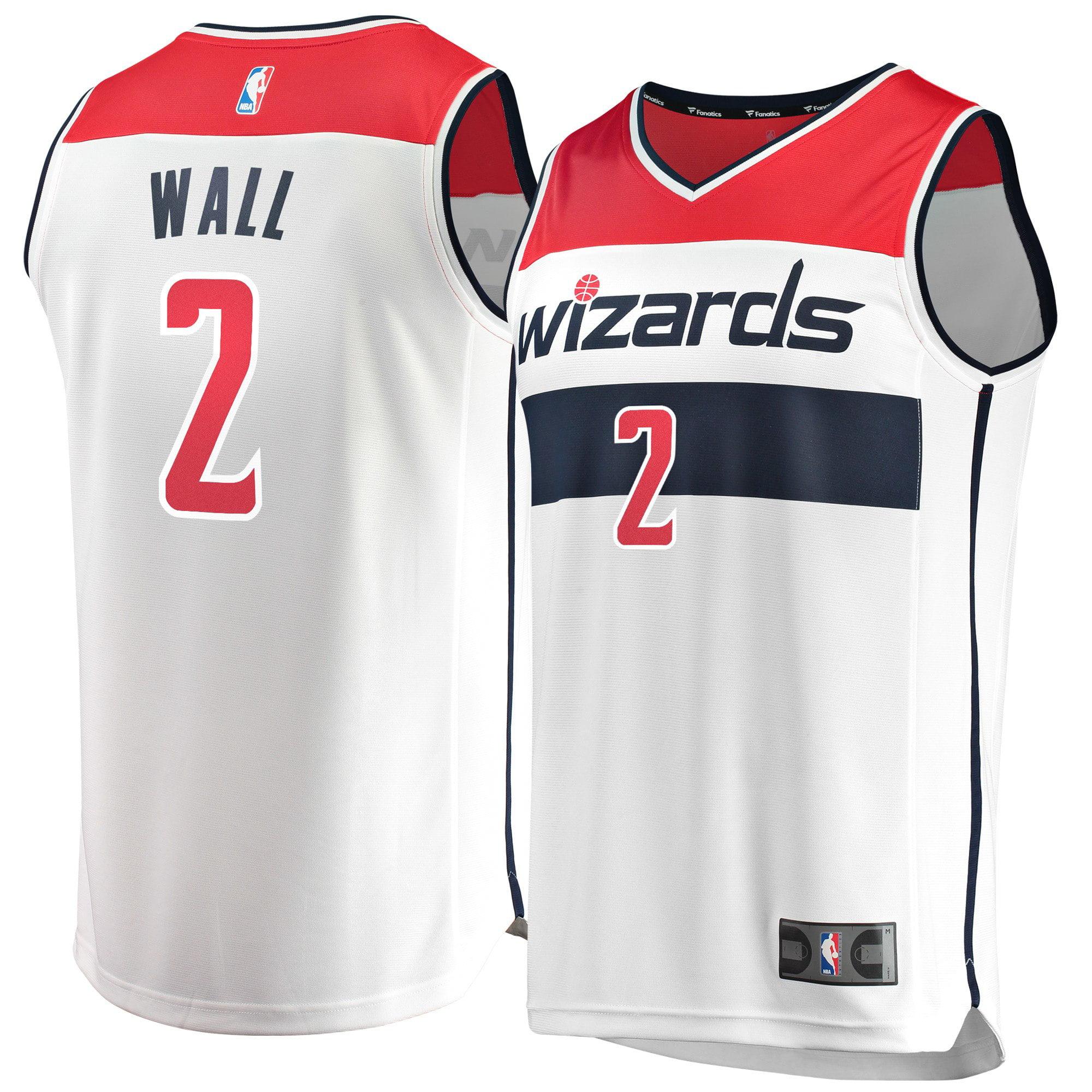 John Wall Washington Wizards Fanatics Branded Fast Break Jersey - Association Edition - White