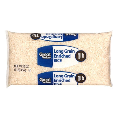 Great Value Long Grain Rice, 16 Oz by Great Value