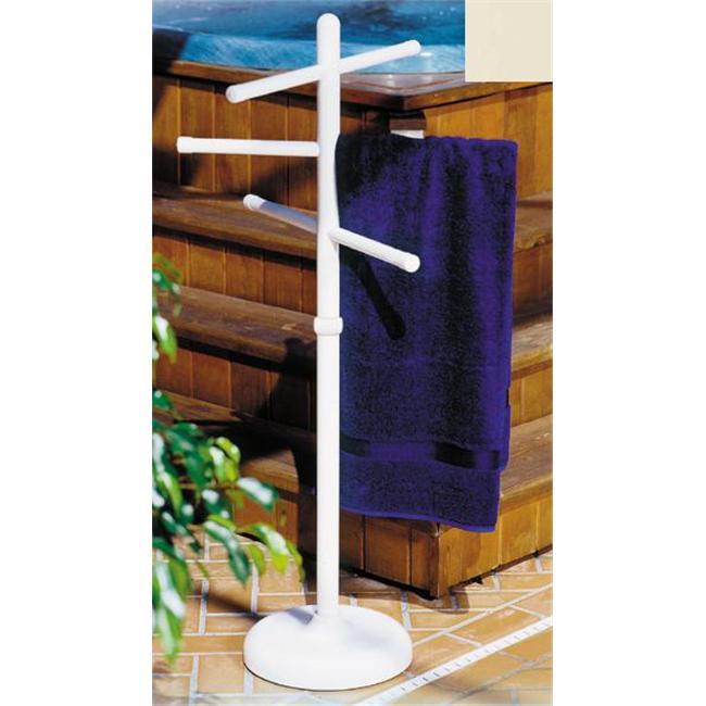 Outdoor Lamp company 401B Portable Outdoor 3 Bar Towel Tree - Bronze