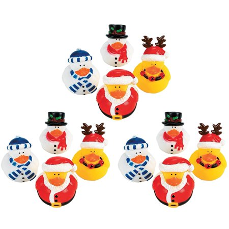 Christmas Rubber Duckies (Christmas Holiday Rubber Ducky - 12)