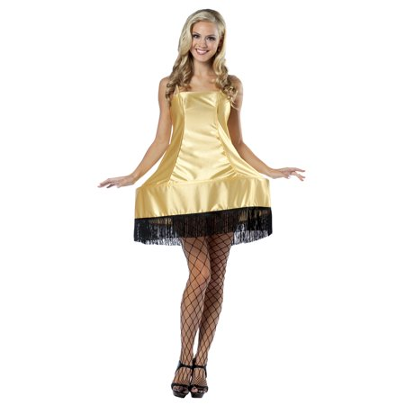 Leg Lamp Dress Adult Halloween Costume - One Size](Cinderella Dress For Adults)