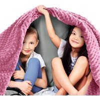 "Kids Premium Weighted Blanket & Removable Cover | 5 lbs | 36""x48"" 