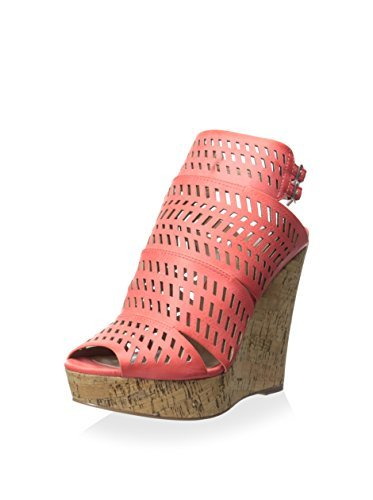 Charles By Charles David Women's Apt Wedge Sandal, Coral, 8 M US by