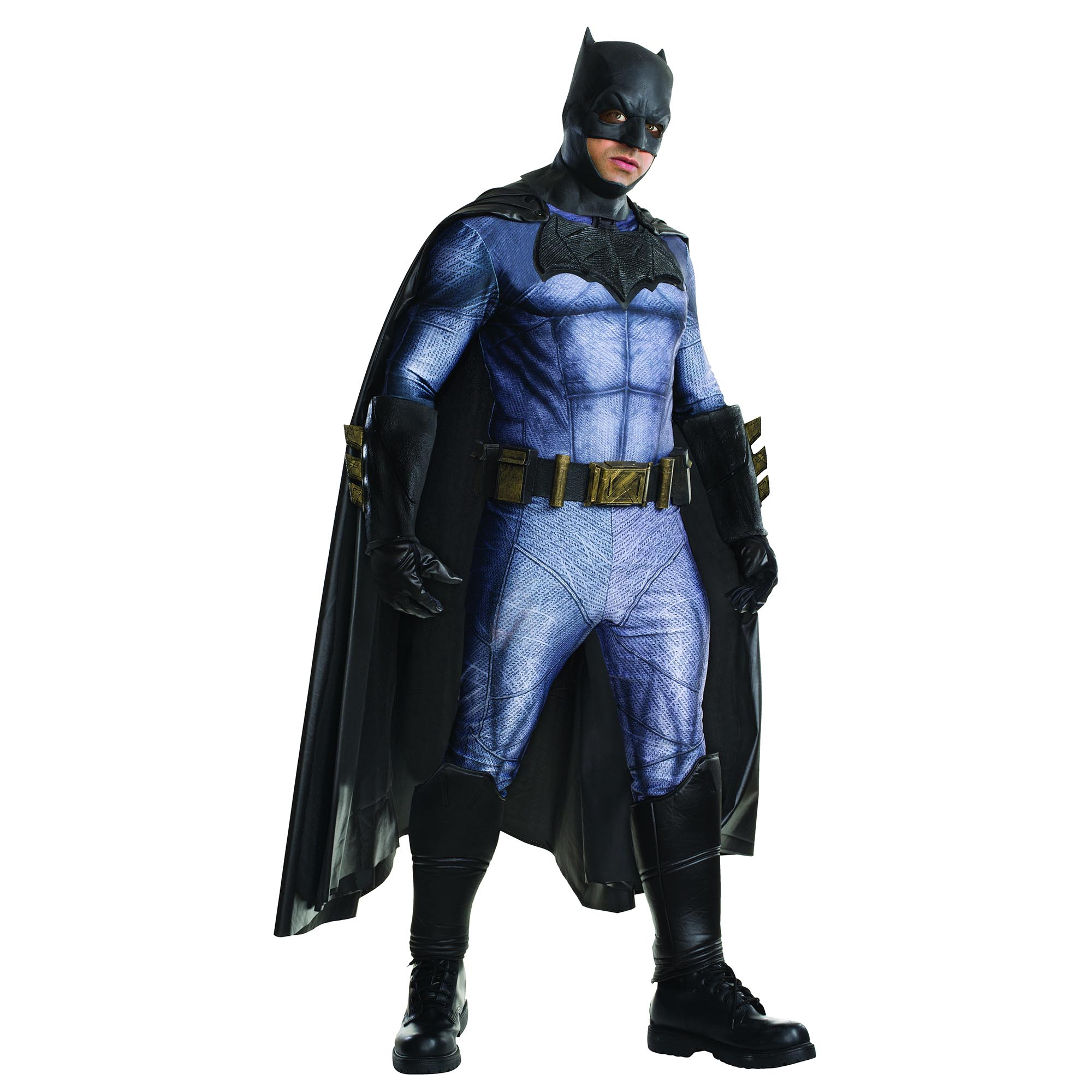 Batman Vs Superman: Dawn of Justice Batman Grand Heritage Men's Adult Halloween Costume, One Size Fits Most