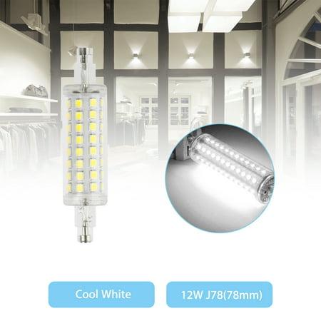 Flood Halogen Light Bulb Lamp (LED Flood Light R7S 78mm Bulb 12W 2835 SMD Replacement Halogen Lamps Warm White/White Light)