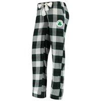 Boston Celtics Concepts Sport Women's Headway Flannel Pants - Kelly Green/Black