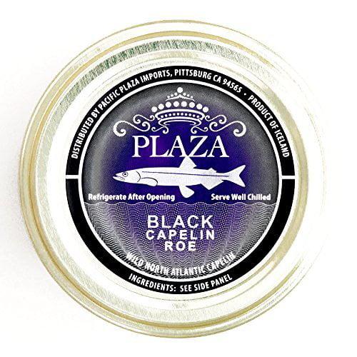 Capelin Caviar 1.75 oz each (4 Items Per Order) by