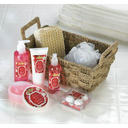 Cinnamon Apple Spice Bath   Body Gift Basket Set As Spa Gift Ideas For Valentines Day  Mothers Day And Christmas By Home N Gifts