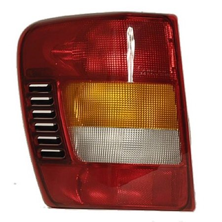 Go-Parts OE Replacement for 2002 - 2004 Jeep Grand Cherokee Rear Tail Light Lamp Assembly / Lens / Cover - Left (Driver) Side 55155139AI CH2800150 Replacement For Jeep Grand