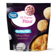(2 Pack) Great Value Gluten-Free All-Purpose Flour, 22 oz