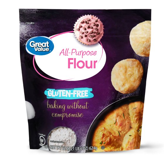 Great Value Gluten-Free All-Purpose Flour, 22 oz - Walmart com