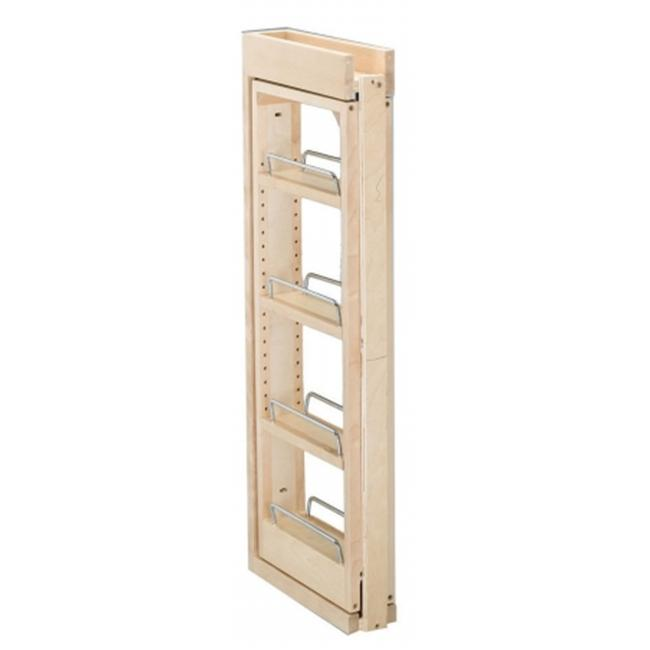 Rev-A-Shelf RS432. WF. 3C 3 inch W x 30 inch H Wall Filler Pull Out  Wood