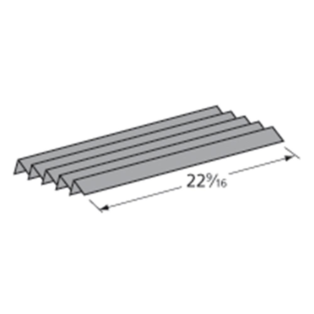 MHP BBQ Grill Weber Grill Heat Plate 5-Pack Stainless Ste...