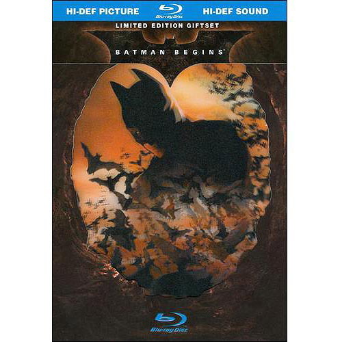 Batman Begins: Limited Edition Gift Set (Blu-ray) (Widescreen)
