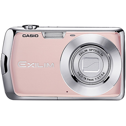 "Casio Exilim EX-S5S Pink 10MP Digital Camera with 3x Optical Zoom, 2.7"" LCD,  YouTube Mode"